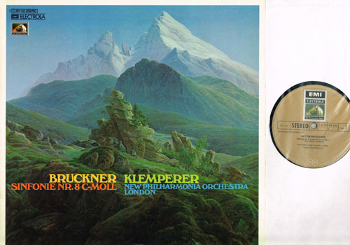 Otto Klemperer conducts Brackner EMI