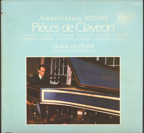 Harpsichord And Harpsichordist Music 2nd Hand Vinyl Lp