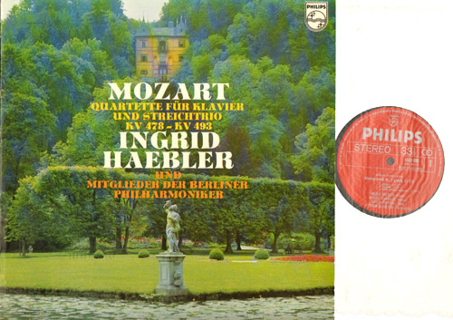Mozart Piano Quartets K 478 And 493 Rec 1970